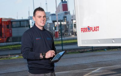 Belfast Port Commercials Charges Ahead with Freeway Fleet Maintenance Software