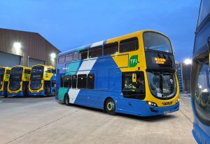 Go Ahead Ireland buses that are using Freeway Fleet Systems' bus fleet management software