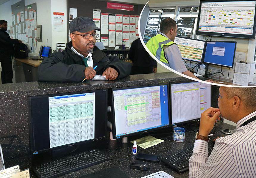 Freeway Fleet System Software User with Omnibus Integration