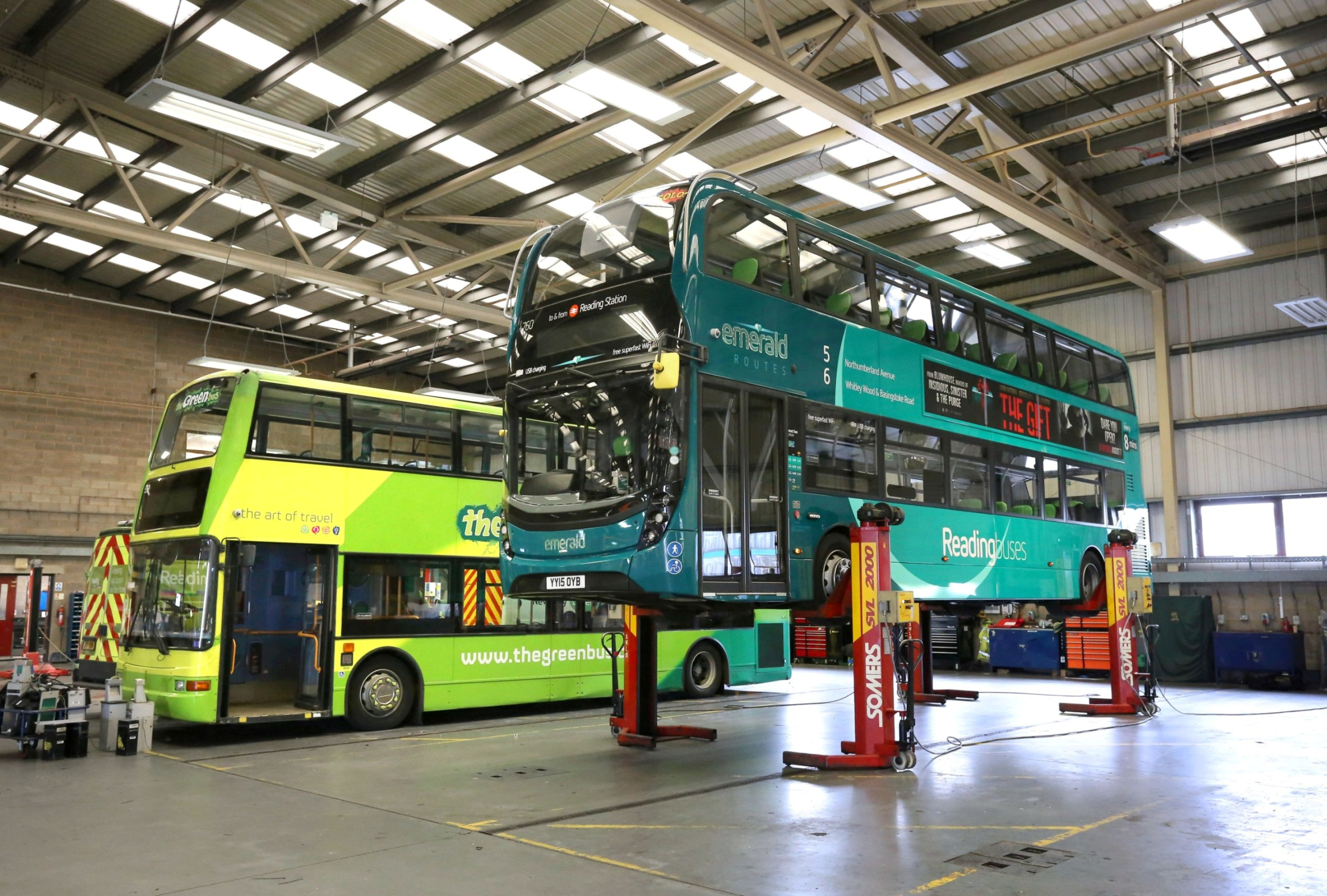 Fleet Management System | Reading buses maintains a top