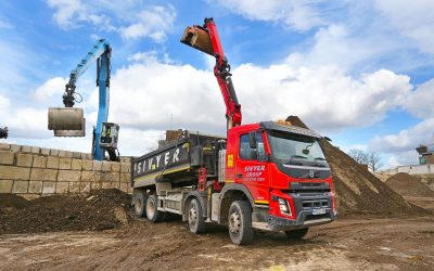Sivyer's Tipper Fleet Benefits from Ground-Breaking Freeway System